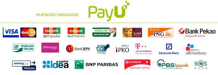Płatności obsługuje PayU